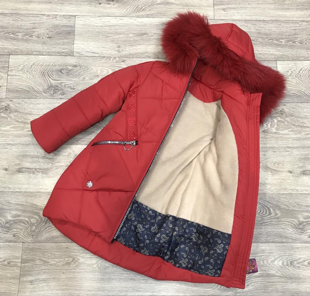 Внимание! распродажа! тёплое зимнее пальто на девочку фото №2