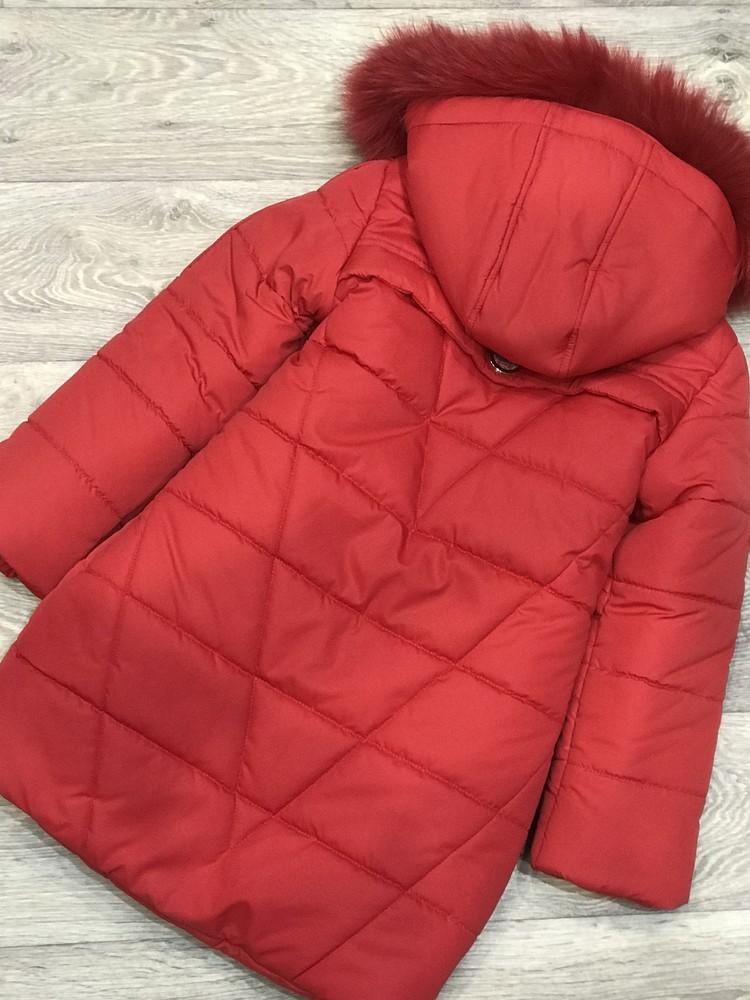 Внимание! распродажа! тёплое зимнее пальто на девочку фото №3