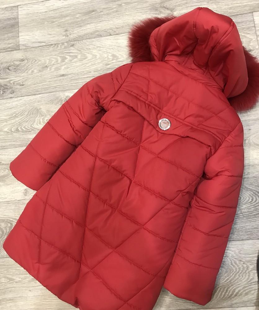 Внимание! распродажа! тёплое зимнее пальто на девочку фото №4