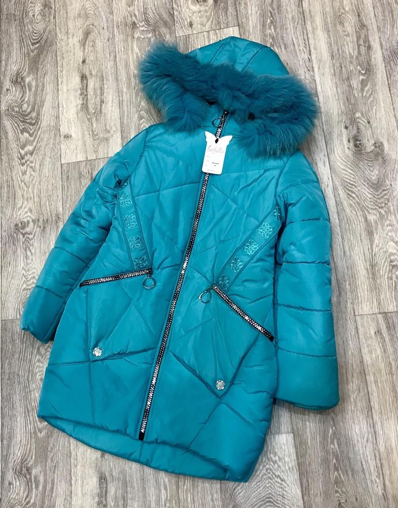 Внимание! распродажа! тёплое зимнее пальто на девочку фото №5