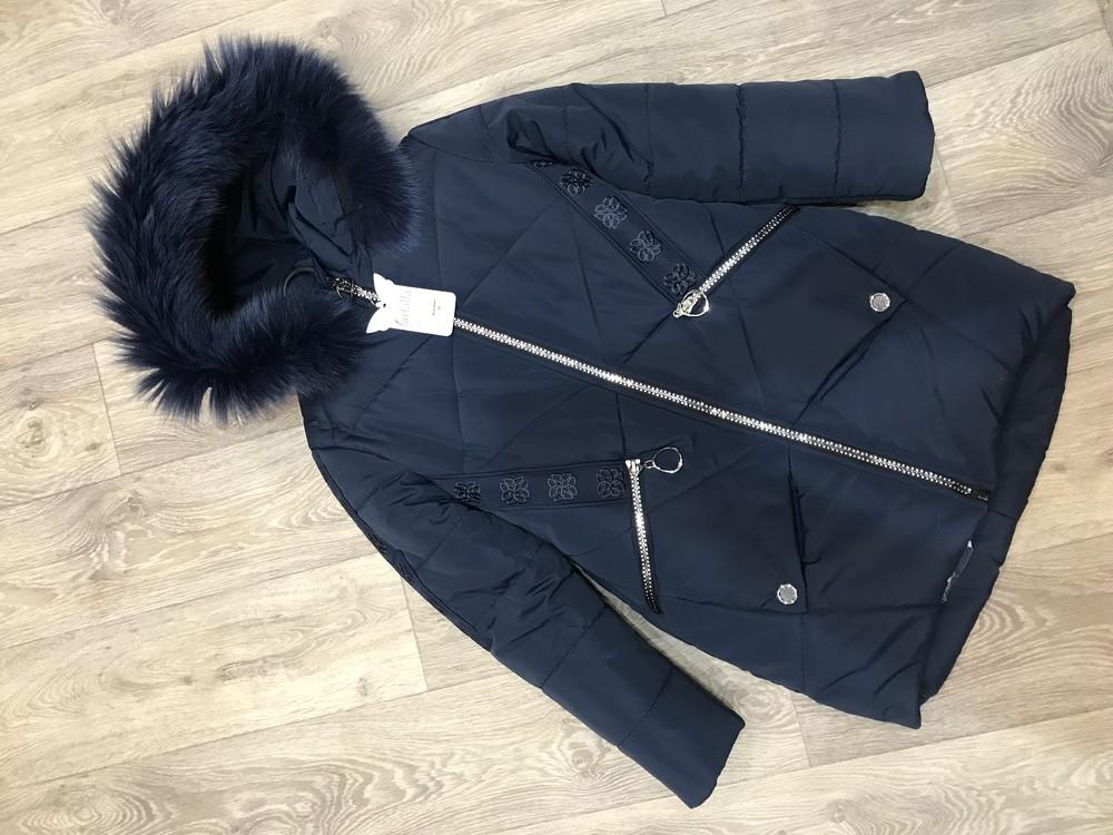 Внимание! распродажа! тёплое зимнее пальто на девочку фото №6