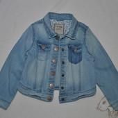 Джинсовая курточка пиджачок на 4-5 лет Next