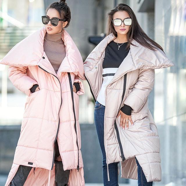 Женское зимнее пальто-одеяло фото №1