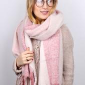 Большие, объемные шарфы, новинка зима