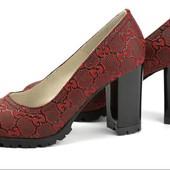 Стильные туфли Soldi 39 размер