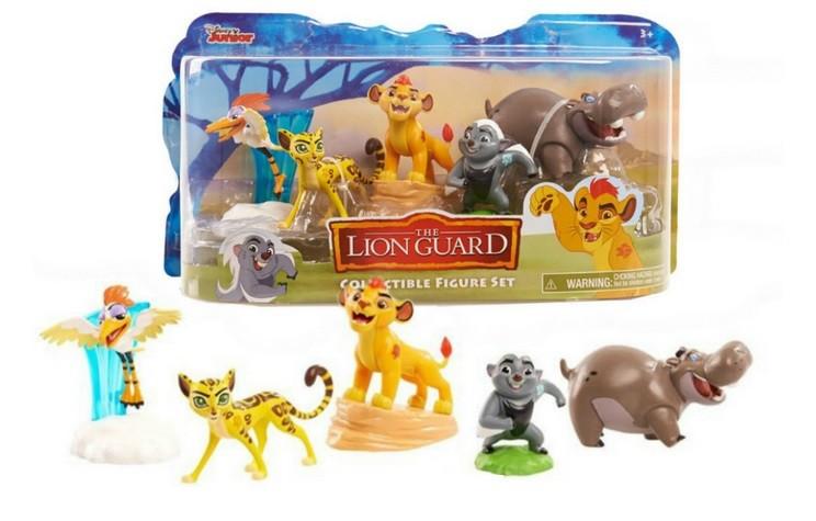 Львиная гвардия 5 фигурок (lion guard) фото №1