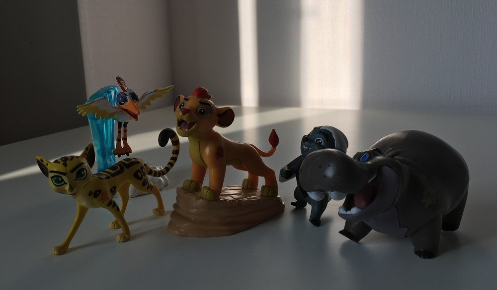 Львиная гвардия 5 фигурок (lion guard) фото №3