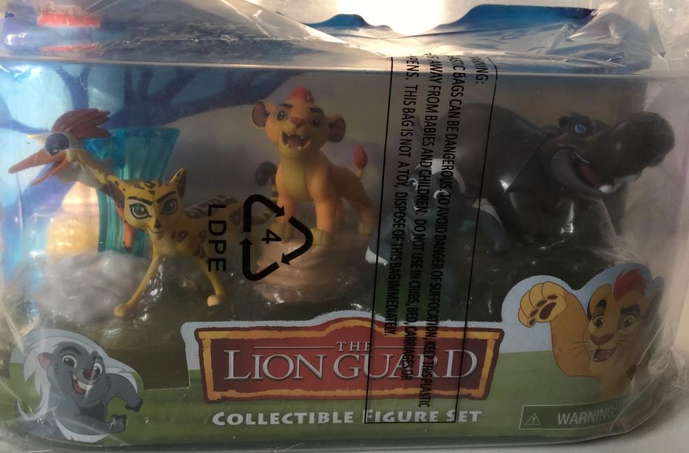 Львиная гвардия 5 фигурок (lion guard) фото №4