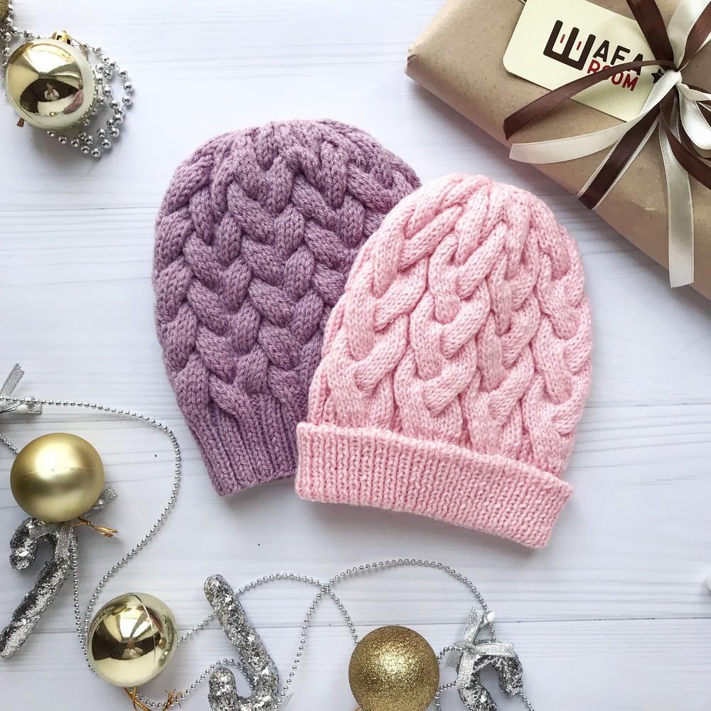 Распродажа!! шапка зимняя детская теплая handmade фото №1