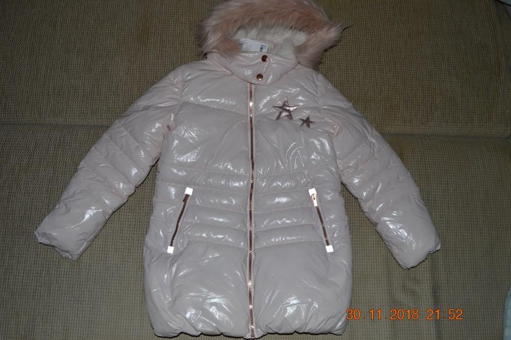 Нова тепла подовжена куртка next для дівчинки розм. 12 р./152 см. в наявності фото №1