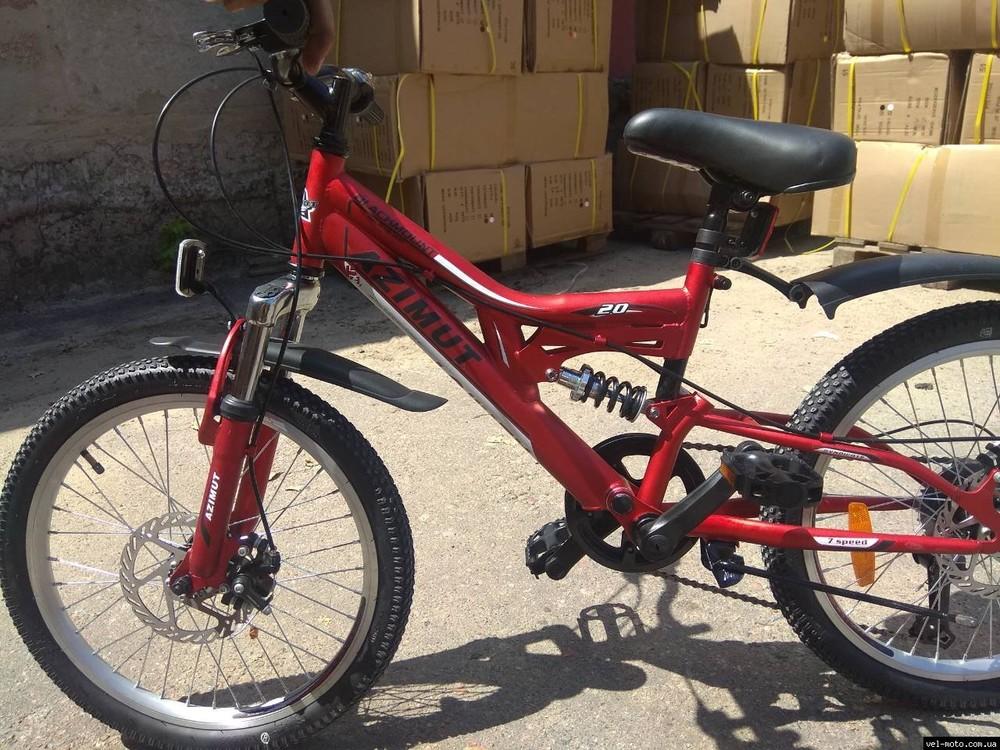Азимут блекмаунт 20 велосипед спортивный дисковые тормоза azimut blackmount фото №1