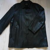 Мужская кожаная куртка, р. 54-56
