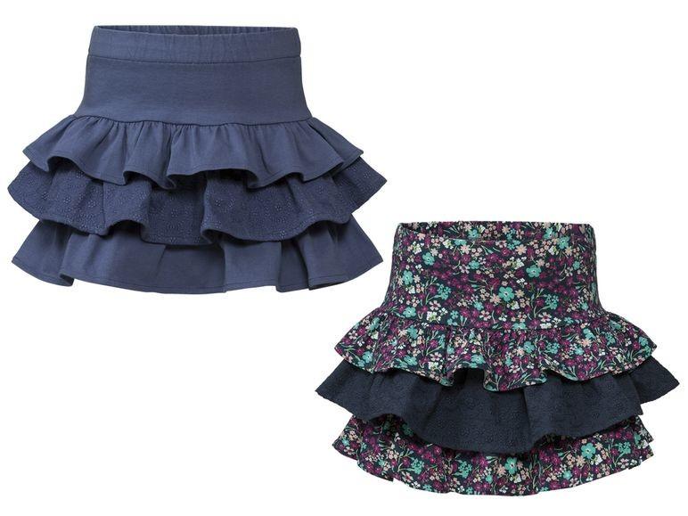 Красивые юбки юбка с воланами для девочек, lupilu, германия фото №1