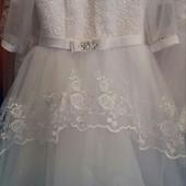Детские нарядные платья возраст 6-9 лет опт и розница