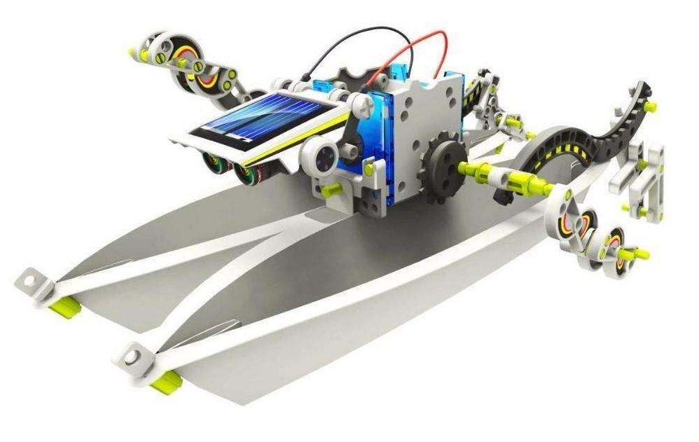 Робот-конструктор cic 21-615 14 в 1 фото №6