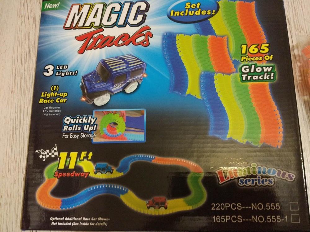 Гоночный трек magic tracks 165 деталей фото №3