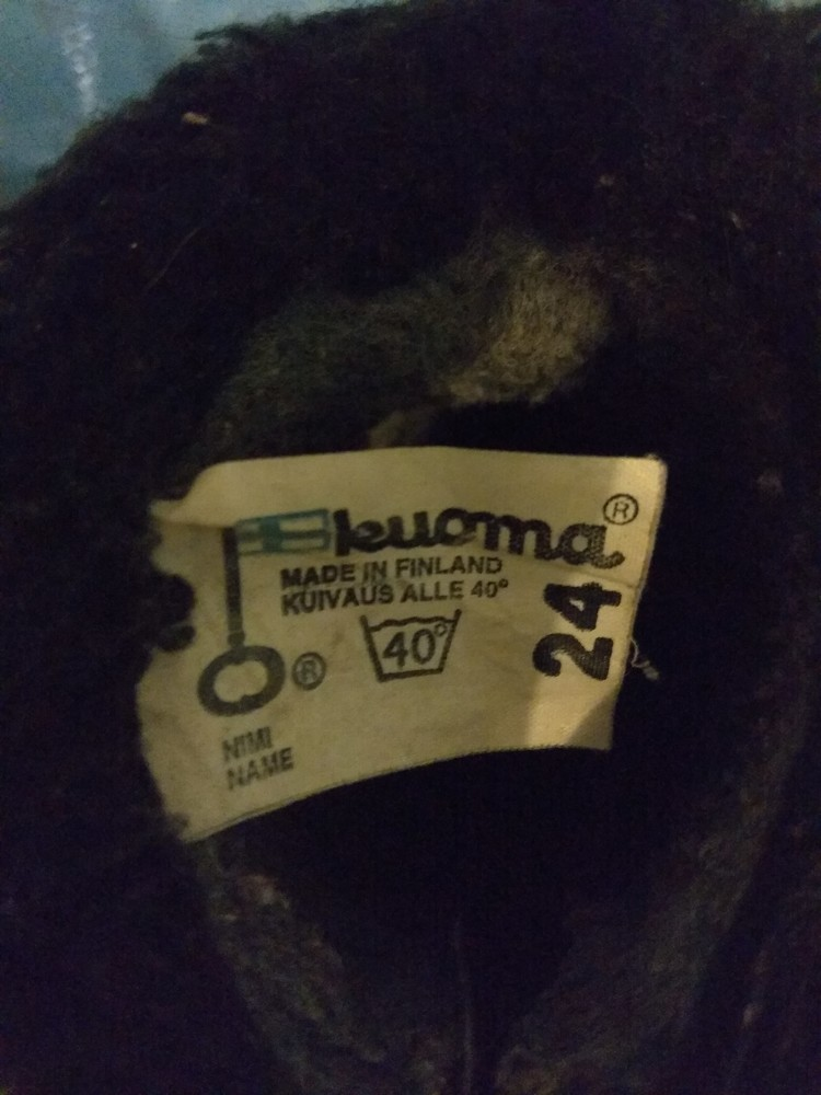 Зимние сапожки валенки куома kuoma финляндия фото №6