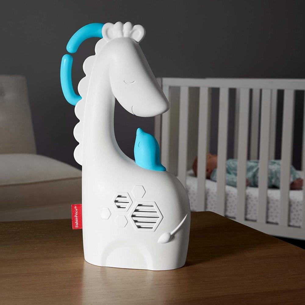 Убаюкивает успокаивает музыкальная подвеска на кроватку сонный жираф, оригинал fisher-price америка фото №1