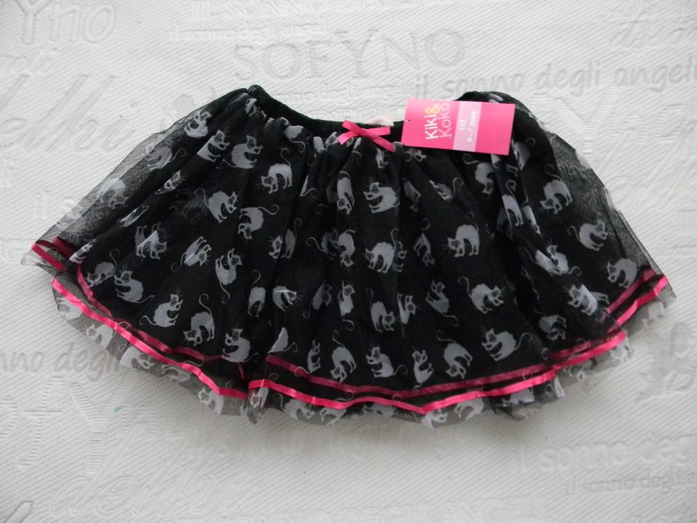 Фатиновая юбка  kiki  на р. 116 и  р. 122 см. фото №1