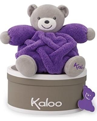 Мягкая игрушка для самых маленьких kaloo neon plum bear фото №1