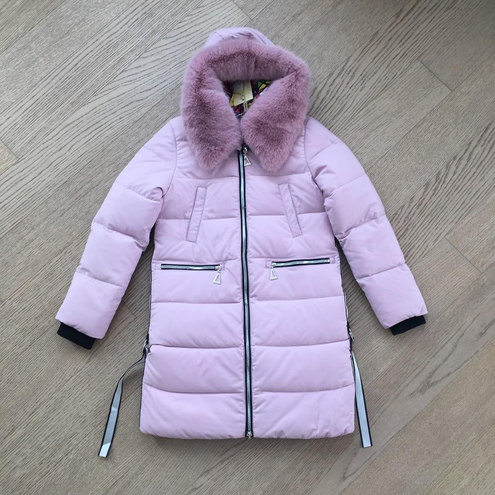 Двухстороння женская зимння куртка ( s-2xl), сьемный мех фото №1