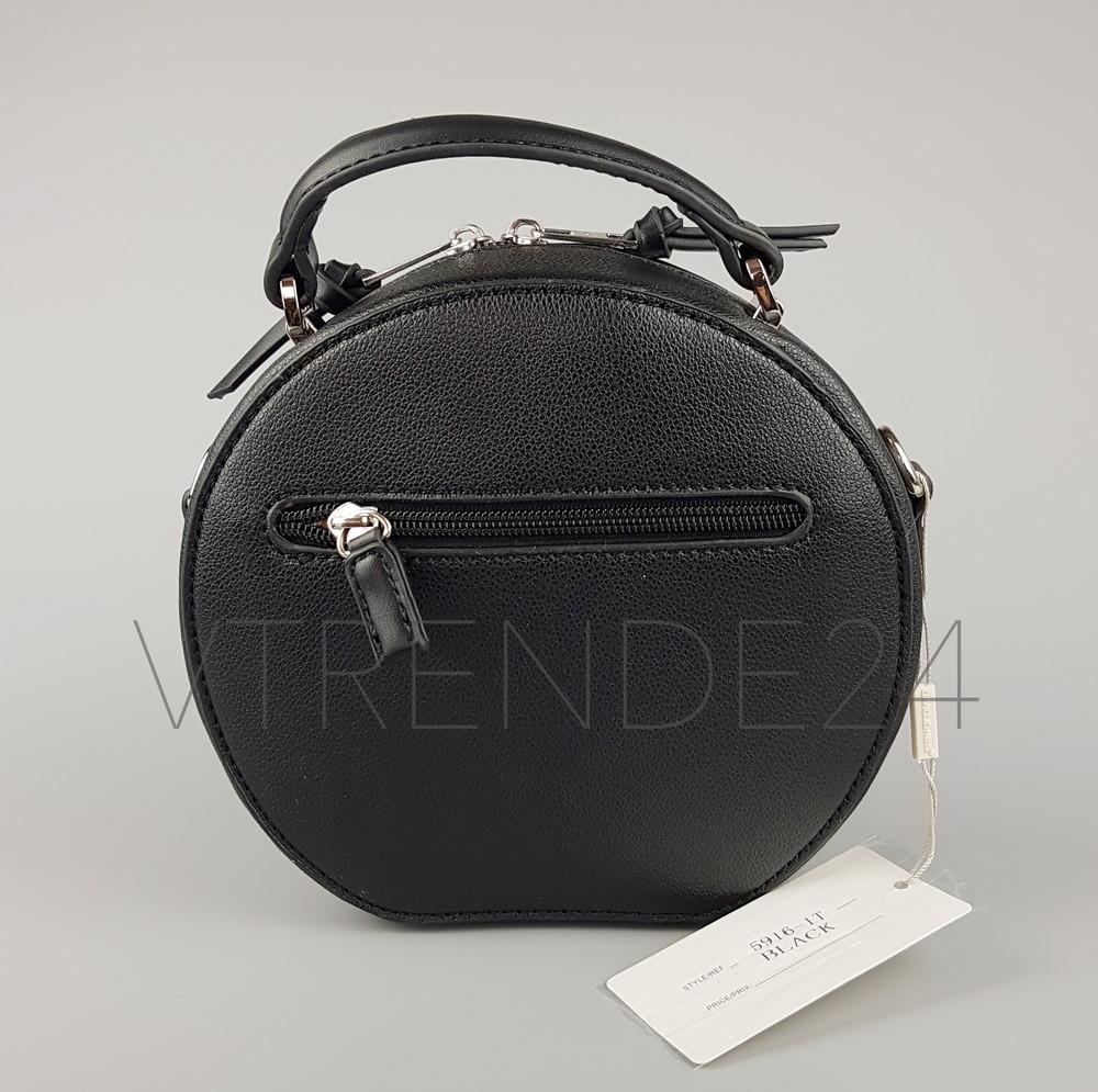 311470e44679 Бесплатная доставка #5916-1 black david jones женский круглый клатч фото №4