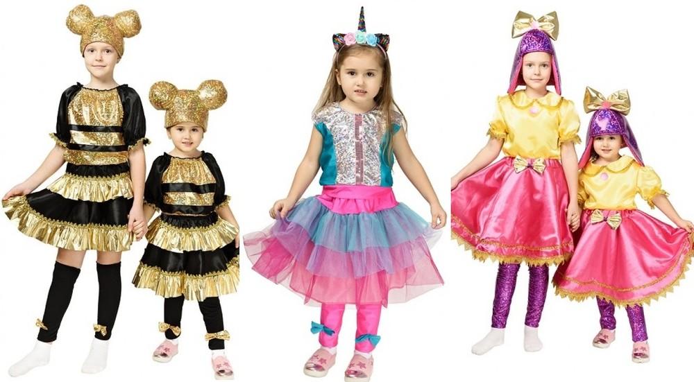 Продаж костюм лялька кукла лол бджілка пчелка єдинорожка, леді голд lol фото №1