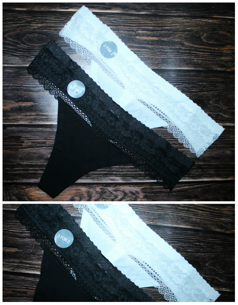 Набор новых трусиков marks&spencer. размер 12(s-m) фото №1