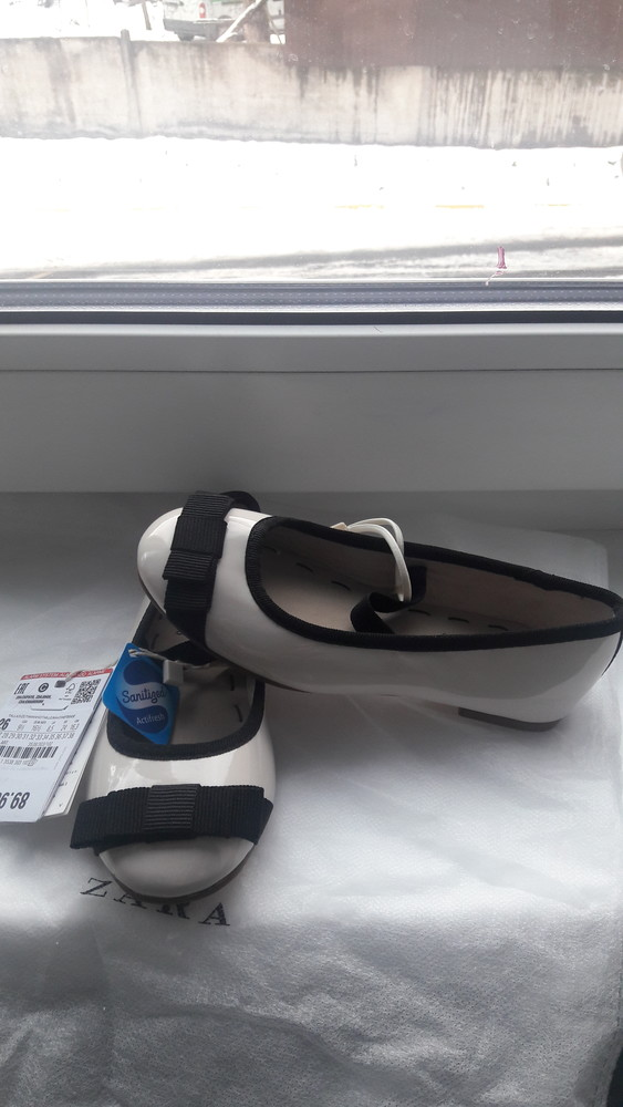 Нарядные туфли, лодочки, балетки zara фото №1