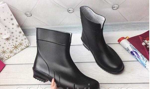Женские резиновые сапожки, сапоги, ботинки, 37-41рр., утепленные фото №1