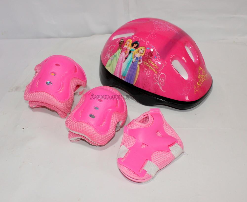Защита для скейта, роликов, самоката combo розовый. в ассортименте фото №1