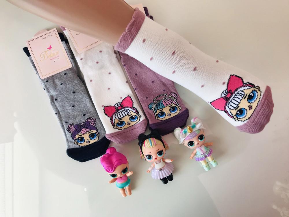 Носки детские lol демисезонные, ароматизированные, 2 вида фото №1