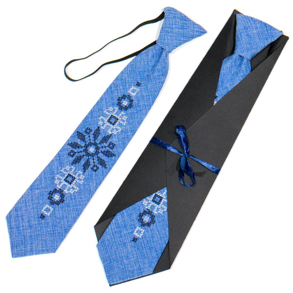 Дитяча вишита краватка фото №1