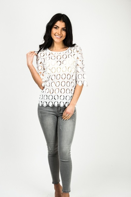 Супер нарядная блуза на лето. фото №1