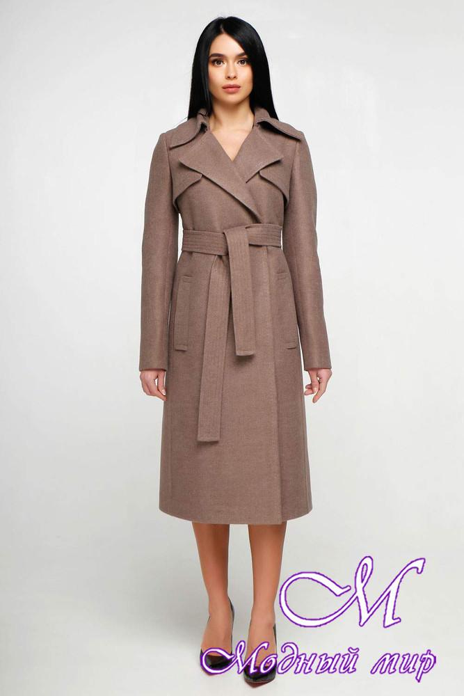 Женское демисезонное пальто (р. 44-54) фото №1