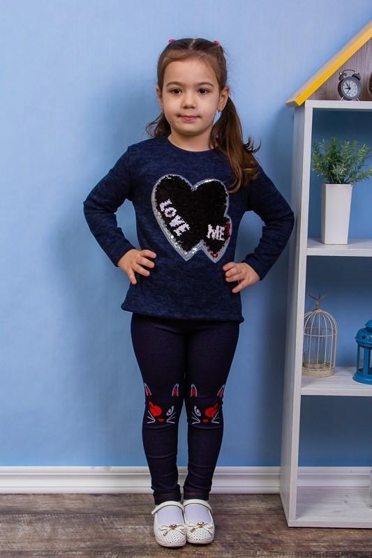Модные демисезонные лосины для девочек фото №1