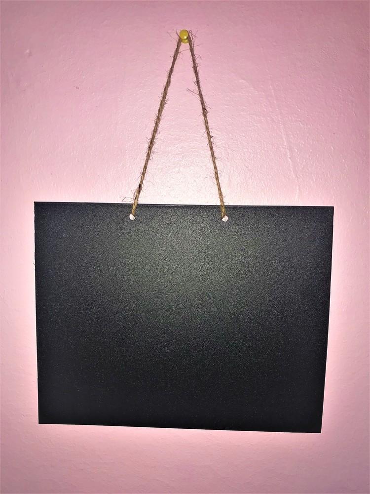 Доска меловая. а4 (30х20 см) магнитная. для рисования мелом и маркером. вертикальная. грифельная фото №1