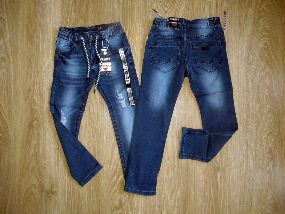 Джинсовые брюки для мальчиков 116-122-128-134-140-146, венгрия фото №1