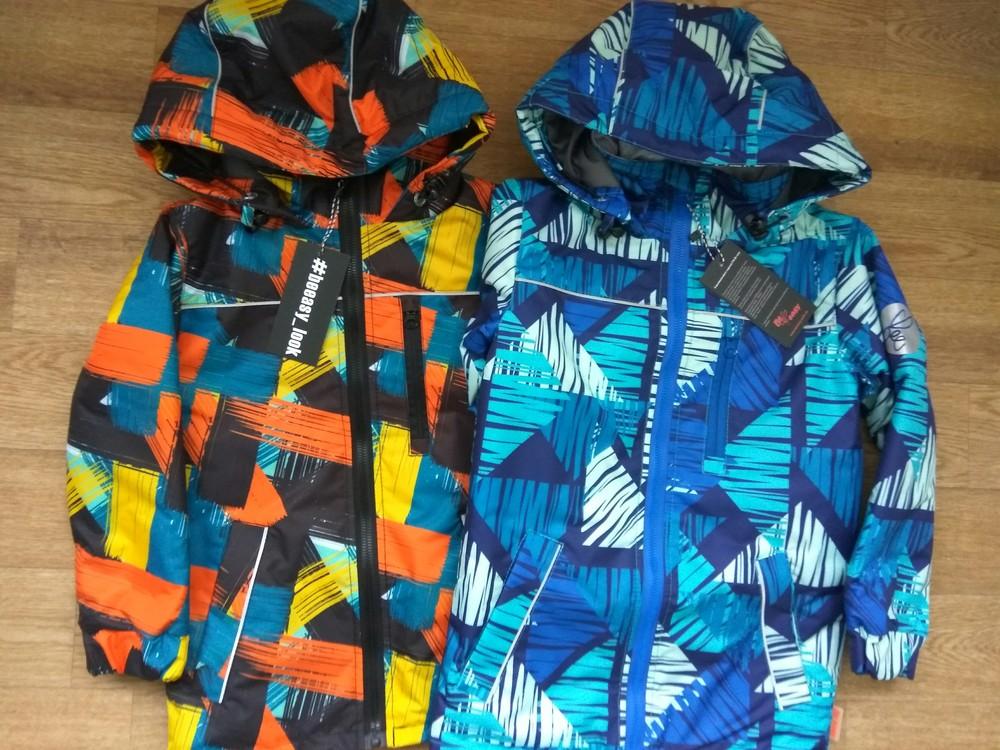 Демисезонная куртка be easy из мембранной ткани в наличии от 110 до 128 фото №1