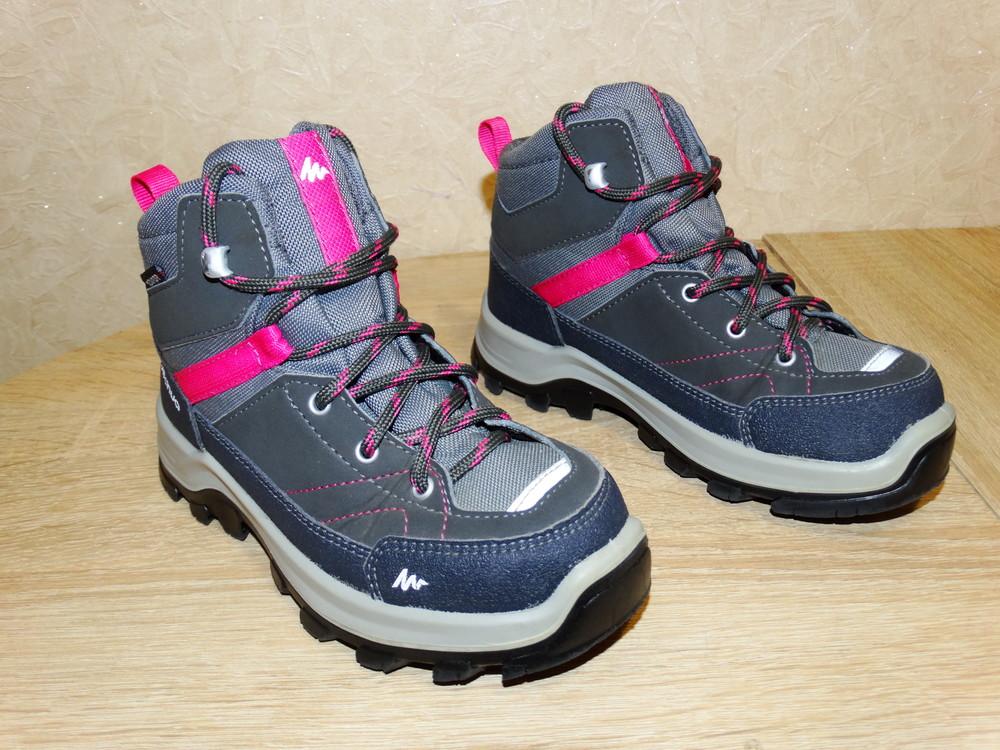 Р.29-30 треккинговые ботинки quechua , 19,5 см. по стельке фото №1