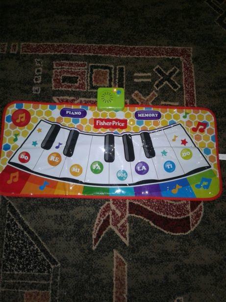 Напольное пианино fisher price,оригинал,привезенный с англии. фото №1