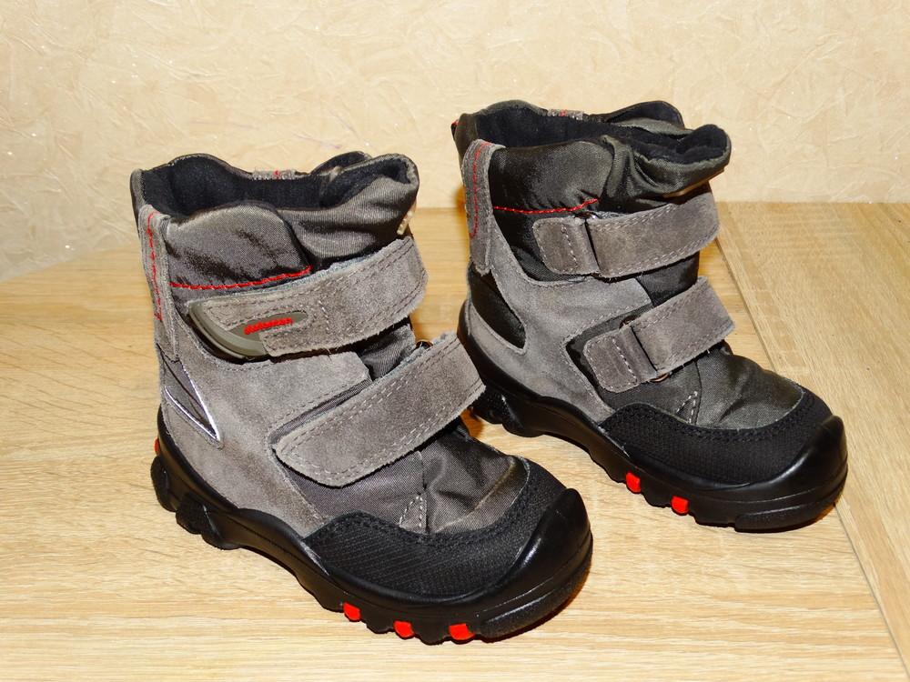 Р.22 ботинки elefanten-tex с мембраной 14,5 см. по стельке на высокий подъем фото №1
