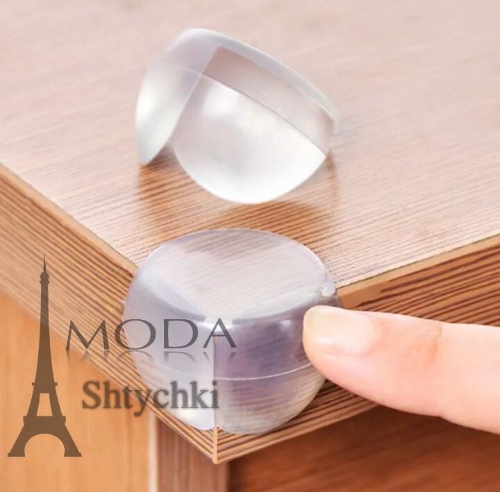 Силиконовые протекторы на угол стола фото №1