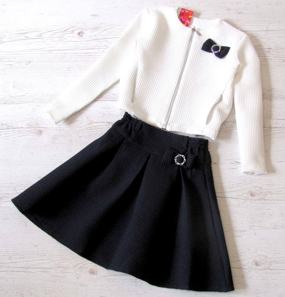 Распродажа! детский костюм юбка+пиджак р.128-152 марианна фото №1
