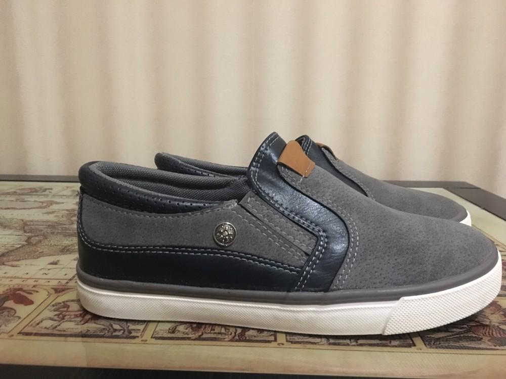 Туфли слипоны clibee на мальчика 33, 34 размеры (венгрия) фото №1