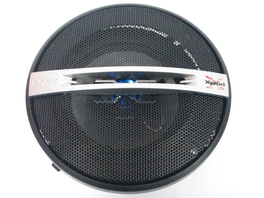 Автомобильная акустика 13см sony xs-gtf1325 (150вт) 2х полосные фото №1