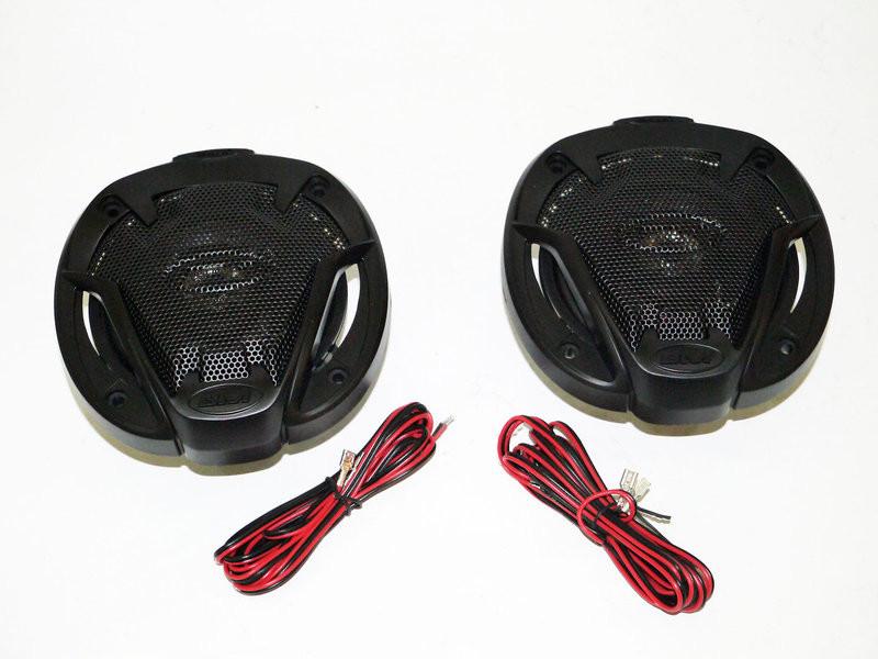 Автомобильная акустика 10см boschmann bm audio xj1-g434t2 250w 2х полосная фото №1