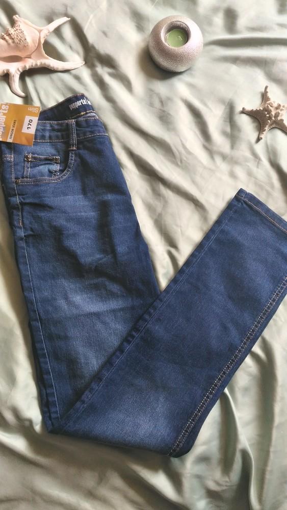Подростковые джинсы slim pepperts, рост 170, возраст 14+ фото №1
