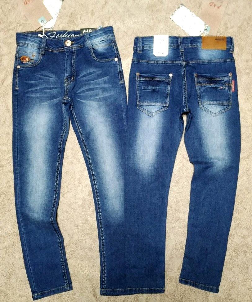 Отличные джинсы для парней 134-164р фото №1