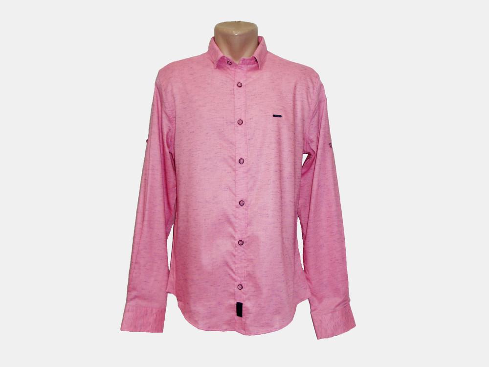 Мужская рубашка с длинным рукавом amato. разные цвета. есть большие размеры. фото №1